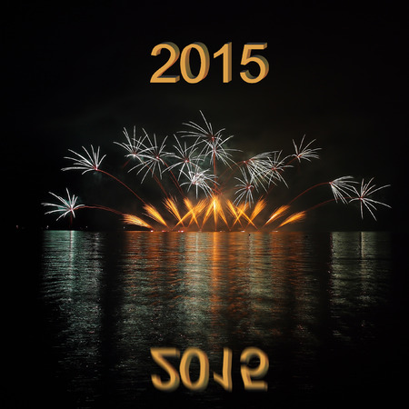 2015 with fireworks photo