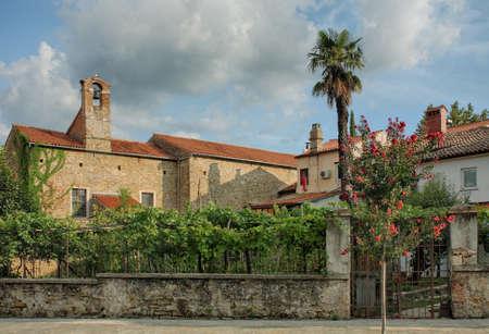 martha: Rear view to Church of Saint Martha in Koper.