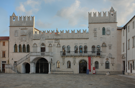 praetorian: The Praetorian Palace, Venetian Gothic palace in the city of Koper in Slovenia