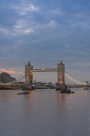 Tower Bridge in the morning, London, England.