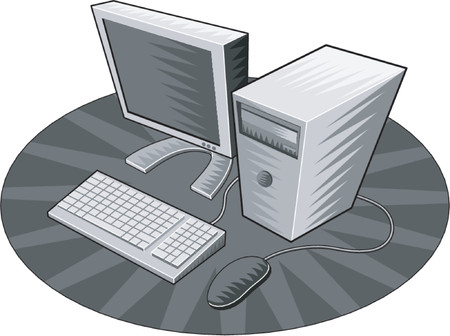 surfing the net: Computer system retro style