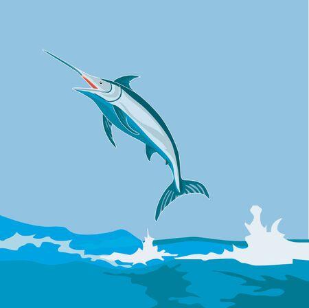 Blue marlin  Stock Vector - 1372834