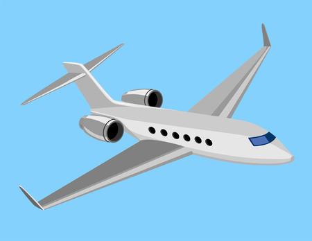 Luz avión comercial