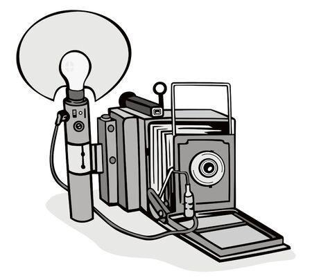 artifact: Vintage camera