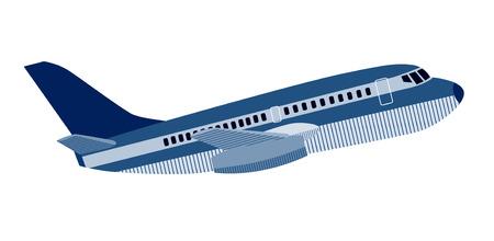 jumbo: Jumbo jet plane side view