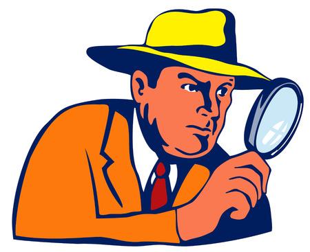 Detective  Stock Vector - 1729488