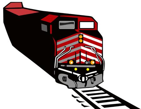 railway track: Goederentrein