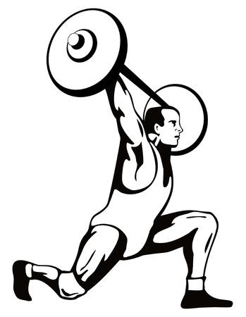 snatch: Weighlifter