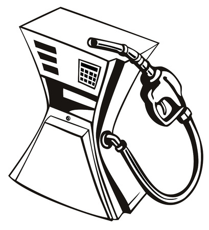 Gas pump squeezed