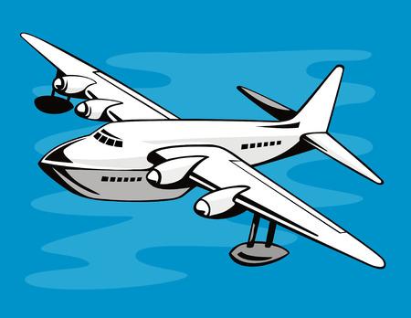 flying boat: Hidroavi�n