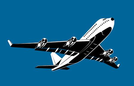 비행기는 이륙