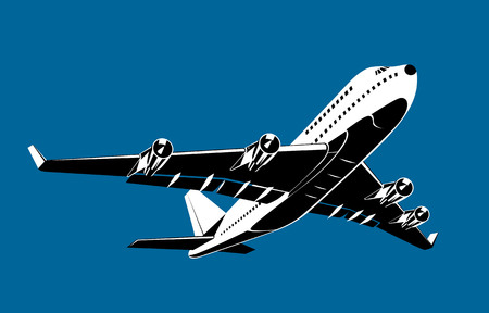 taking off: Avi�n que despegaba