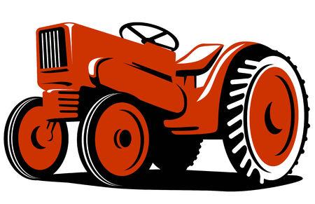 tractor: Vintage tractor