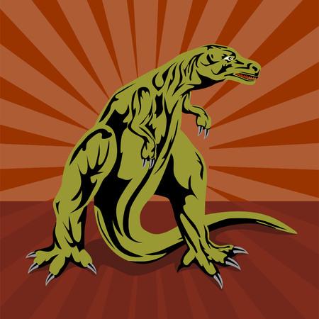 trex: T-rex dinosaur