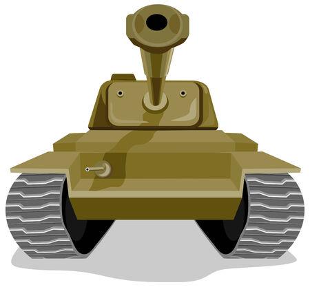 Battle tank Stock Vector - 2370984