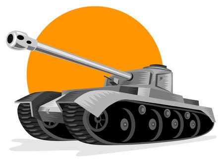 Panzer tank Stock Vector - 2370987