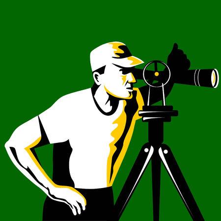 surveying: Surveyor Illustration