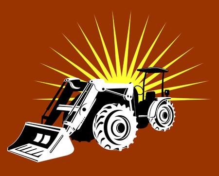 front loader: Front loader Illustration