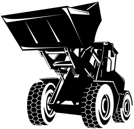 Front loader Illustration