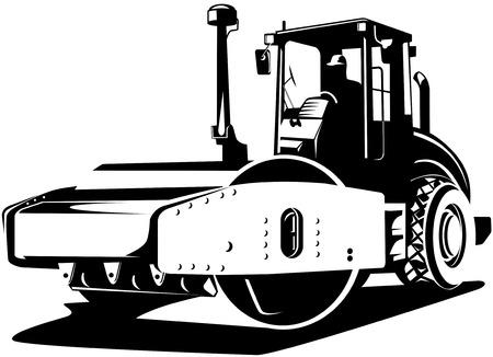Road roller compactor
