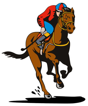 4 137 horse racing stock illustrations cliparts and royalty free rh 123rf com horse racing clip art free horse race clipart