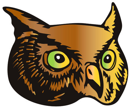 horned: Great horned owl
