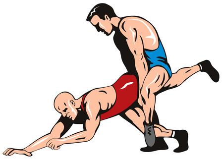 wrestling: Freestyle wrestling