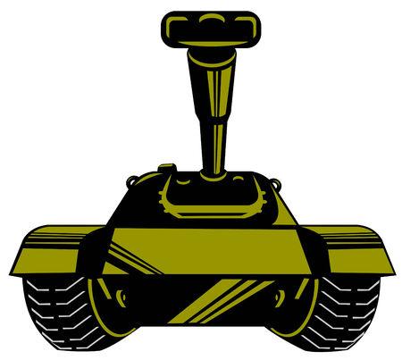 Battle tank Stock Vector - 3081103