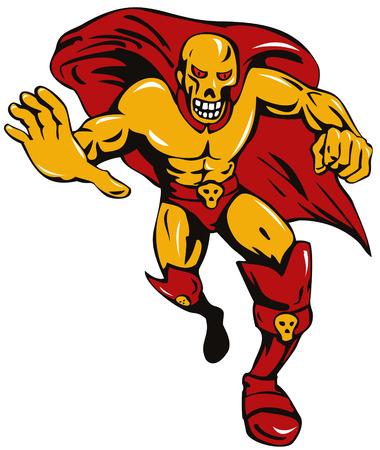 Super villain skull Stock Vector - 3081115