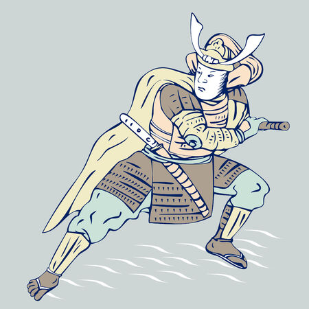 hokusai: Samurai warrior