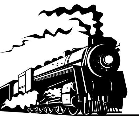 railways: train Illustration