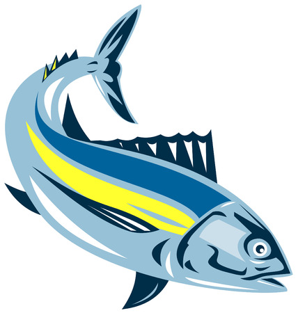 TUNA: At�n blanco  Vectores