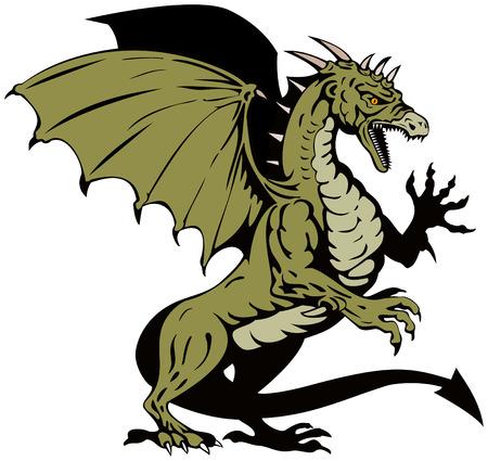 mythological: Dragon