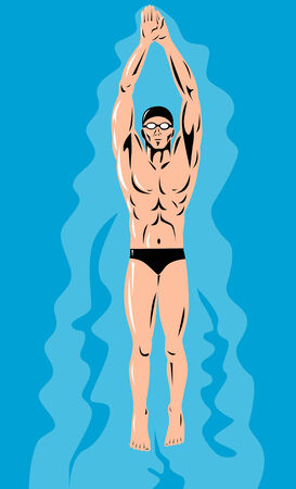 sports competition swimmer