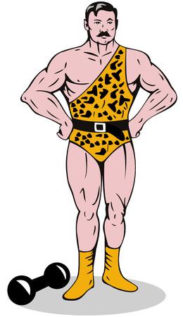 barbell: Circus Strongman