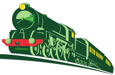 locomotora: Tren