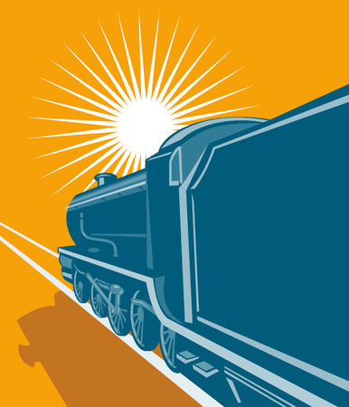 railway track: Locomotief