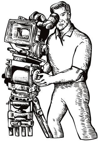 Camera man Stock Vector - 3694319