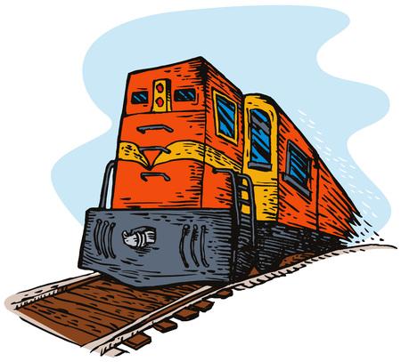 diesel train: Diesel train