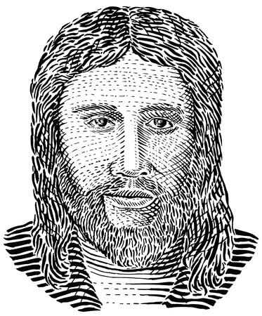 male portrait: Jesus Christ