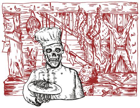 finger bones: Hells kitchen