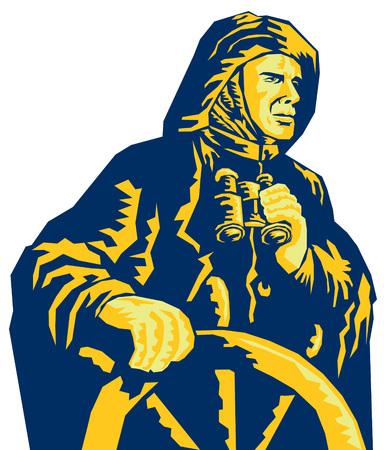 sailor: Buque capatin