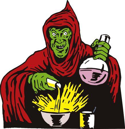 the villain: Evil Wizard