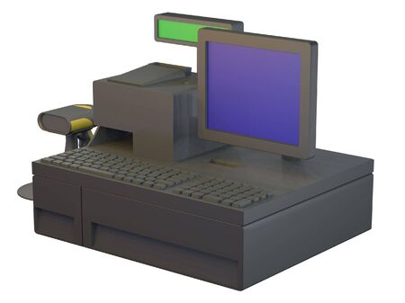 PC based retail point of sale system photo