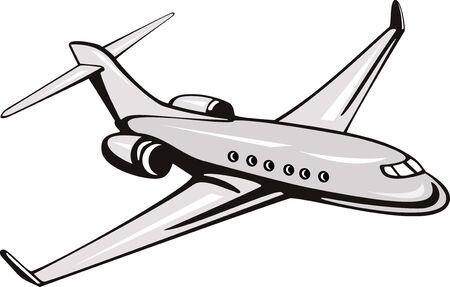 Corporate jet Stock Vector - 3966084