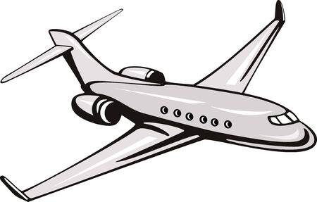 commercial airline: Corporate jet