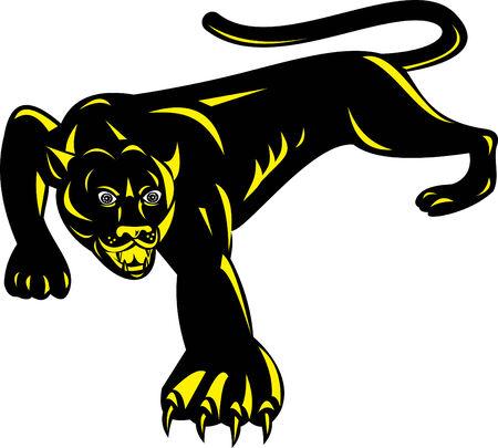 stalking: Panther Illustration
