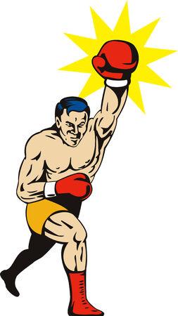 Boxer puñetazos