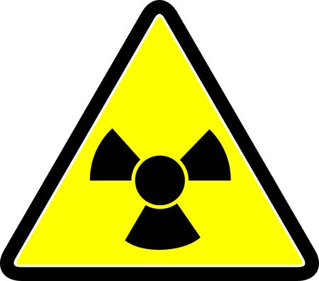 Radiation symbol photo
