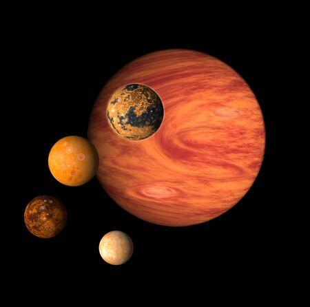 j�piter: J�piter y sus lunas